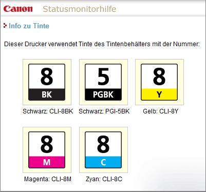 Canon IP5300