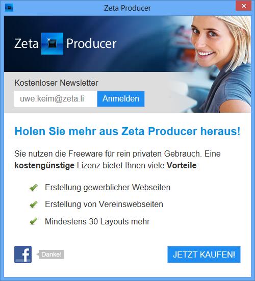 Zeta Producer CMS