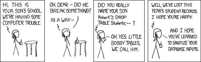 Little Bobby Tables