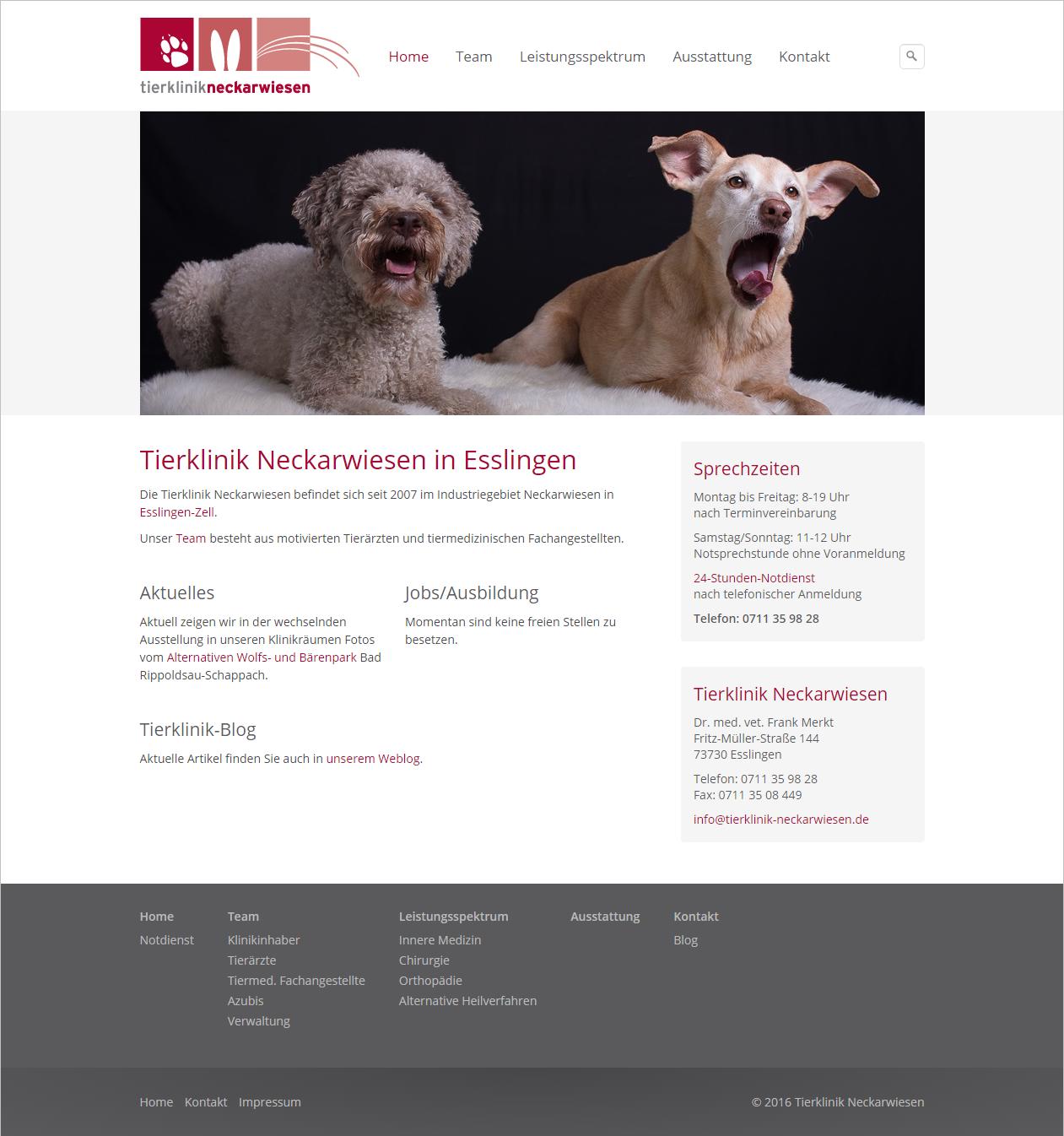Tierklinik in Esslingen